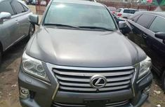 Selling grey 2014 Lexus LX at cheap price