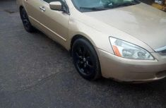 Sell beige 2005 Honda Accord sedan automatic at mileage 225,725