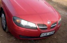 Used red 2005 Nissan Almera car automatic at attractive price