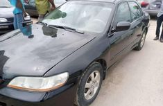 Well maintained black 2002 Honda Accord automatic for sale in Port Harcourt