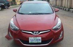Selling red 2013 Hyundai Elantra sedan automatic in Abuja