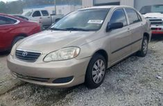 Clean 2006 Toyota Corolla sedan automatic for sale in Jalingo