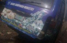 Used blue 1999 Toyota HiAce manual for sale in Ibadan