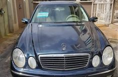 Mercedes-Benz E500 2006 Blue for sale