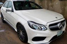 Sell white 2011 Mercedes-Benz E63 sedan at mileage 98 in Lagos