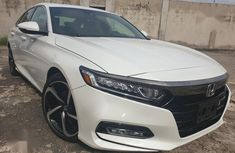 Sell white 2018 Honda Accord at mileage 13,245 in Ikeja at cheap price