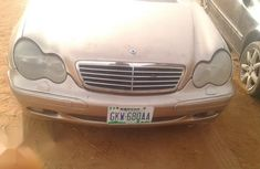 Sell cheap gold 2003 Mercedes-Benz C320 automatic at mileage 87,900