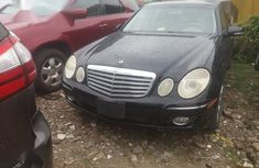 Mercedes-Benz E350 2007 Black
