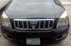 Selling black 2008 Toyota Land Cruiser Prado in Lagos