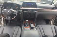 Selling white 2017 Lexus LX automatic at price ₦46,000,000 in Ikeja