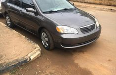 Sell grey 2006 Toyota Corolla sedan automatic