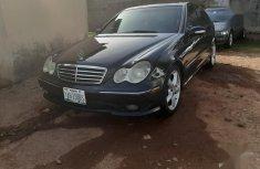 Mercedes-Benz C230 2006 Black color for sale
