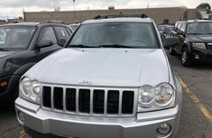 Jeep Grand Cherokee 2005 Silver for sale