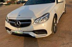 Mercedes-Benz E550 2011 White for sale