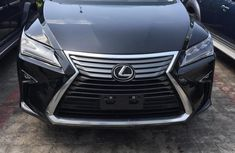 Lexus RX 2016 Black color for sale