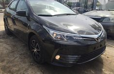 Toyota Corolla 2018 Black for sale