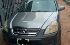 Sell green 2004 Honda CR-V suv automatic in Lagos