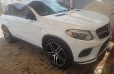 Used white 2016 Mercedes-Benz GLE sedan for sale at price ₦32,000,000