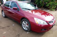 Best priced red 2007 Honda Accord automatic