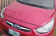Hyundai Accent 2014 Red for sale