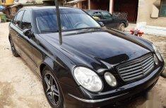 Mercedes-Benz E320 2005 Black color for sale