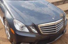 Mercedes-Benz E350 2011 Gray color for sale