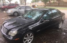 Used black 2003 Mercedes-Benz C230 for sale at price ₦1,350,000 in Abuja