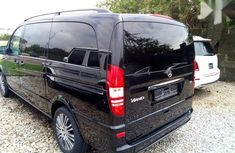 Mercedes-Benz Vaneo 2013 Black color for sale