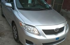 Grey 2010 Toyota Corolla sedan automatic for sale at price ₦2,700,000