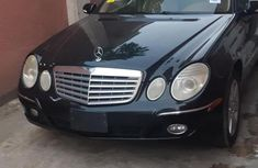 Mercedes-Benz E350 2007 Black for sale