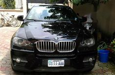 Sell well kept black 2010 BMW X6 sedan at price ₦6,200,000