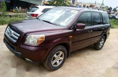 Well maintained red 2007 Honda Pilot automatic for sale