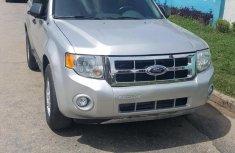 Ford Escape 2008 Silver color for sale