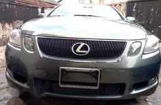 Lexus GS 2006 300 AWD Green for sale