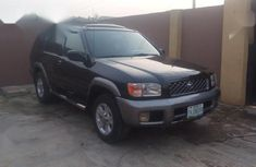 Clean black 2002 Nissan Pathfinder automatic for sale at price ₦1,200,000
