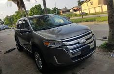 Ford Edge 2013 Brown color for sale
