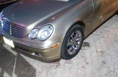Gold 2005 Mercedes-Benz C320 sedan automatic at mileage 10,523 for sale