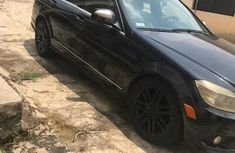 Mercedes-Benz C300 2010 Black color for sale
