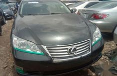 Lexus ES 350 2011 Black color for sale