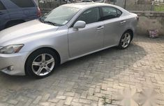 Grey 2008 Lexus IS car automatic at attractive price in Lagos