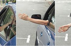 How to use driving hand signals properly