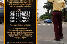 How to report extortion, bribery and harassment by LASTMA officers