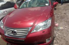 Lexus ES 350 2011 Red color for sale
