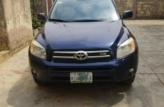 Toyota RAV4 2008 Limited V6 Blue color for sale