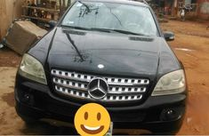 Used black 2006 Mercedes-Benz M-Class for sale at price ₦2,600,000 in Lagos