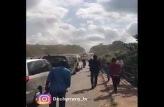Money talks! Nigerian billionaire rescued from Lagos-Benin expressway traffic with helicopter (watch video)