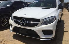 Mercedes-Benz GLE-Class 2016 White color for sale