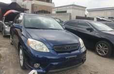 Blue 2005 Toyota Matrix car at attractive price in Port Harcourt