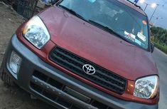 Sell used 2002 Toyota RAV4 automatic at price ₦1,750,000