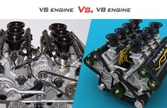 V6 engine vs. V8 engine: Is the V8 worth the hype?